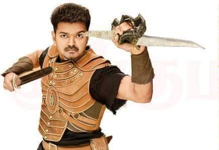 Puli Official Poster Puli Movie Post...
