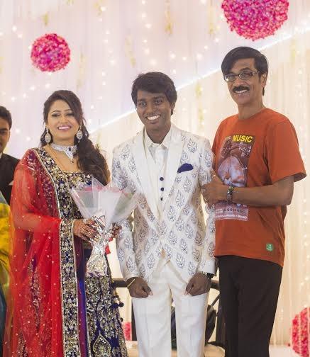 Manobala at Atlee-Krishna Priya's Wedding Reception