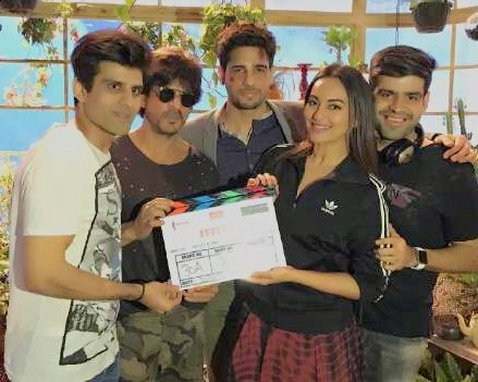 Shah Rukh Khan,Sonakshi Sinha,Sidharth Malhotra,Ittefaq movie launch,Ittefaq,ittefaq star cast,sidharth malhotra ittefaq remake,Ittefaq movie launch pics,Ittefaq movie launch images,Ittefaq movie launch phoots,Ittefaq movie launch stills,Ittefaq movie lau