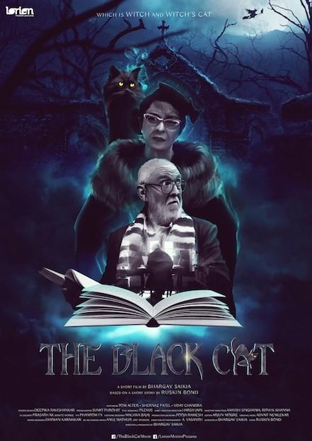 Ruskin Bond,author Ruskin Bond,Bhargav Saikia,The Black Cat