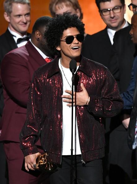Bruno Mars,singer Bruno Mars,That's What I Like,60th Grammy Awards,Grammy Awards,Grammy Awards winners
