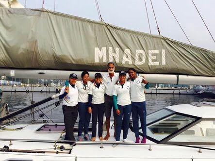 Indian Navy All-Women Crew