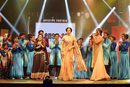 Sridevi attends Asiavision TV awards 2015