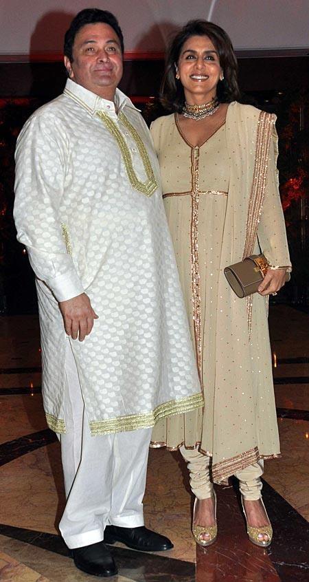 Bollywood actor Rishi Kapoor and Neetu Singh