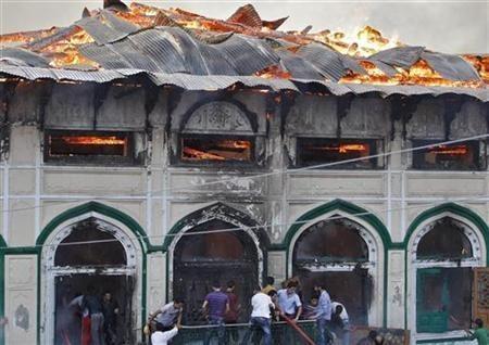 Sufi shrine in Srinagar