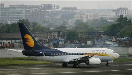 A Jet Airways passenger plane (Reuters)