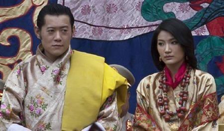 King Jigme Khesar Namgyel Wangchuck and Queen Jetsun Pema Wangchuck.