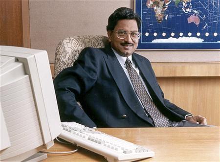 B Ramalinga Raju, founder of Satyam Computer Services Ltd