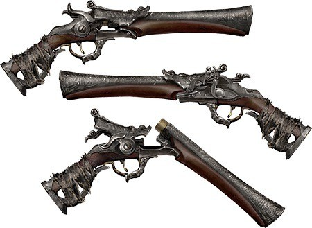 Hunter's Pistol in Bloodborne