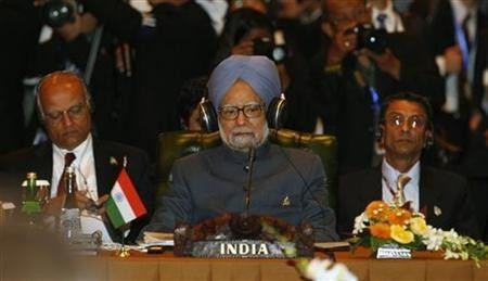 Prime Minister Manmohan Singh at  East Asia Summit