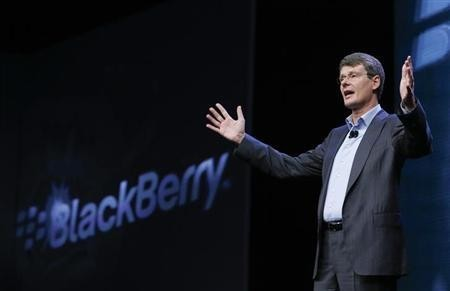 BlackBerry President and Chief Executive Officer Thorsten Heins