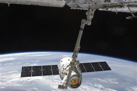 SpaceX Dragon Space Capsule