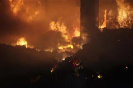 Fire in Bangladesh clothing factory