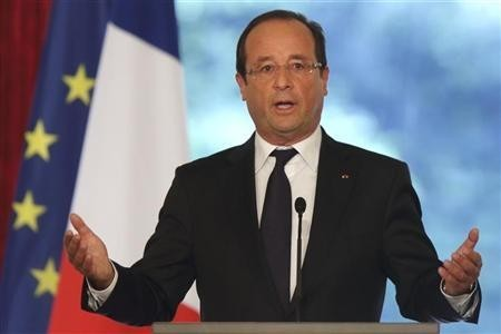France's President Francois Hollande (Reuters)