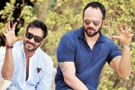 Ajay Devgn and Rohit Shetty