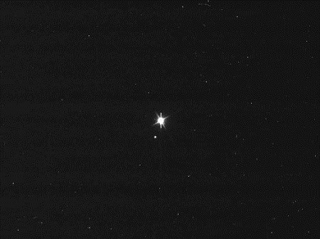 This image of Earth and the moon was taken by NASA's Cassini spacecraft on July 19, 2013.