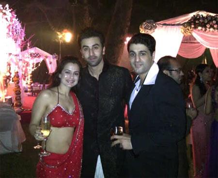 Ameesha Patel with Ranbir Kapoor