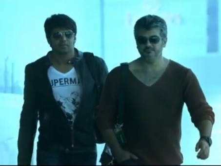 Ajith-Arya (Screenshot from official teaser/YouTube)
