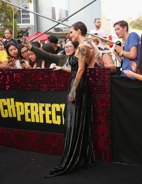 Pitch Perfect 3,Pitch Perfect 3 premiere,Pitch Perfect 3 premiere show,Ruby Rose,model Ruby Rose,Ruby Rose hot pics,Ruby Rose hot images,Ruby Rose hot stills,Ruby Rose hot pictures,Ruby Rose hot photos