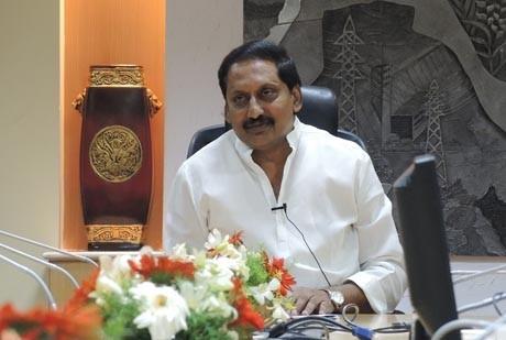 Andhra Pradesh Caretaker Chief Minister N Kiran Kumar Reddy