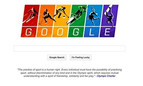 Google Doodle screen shot