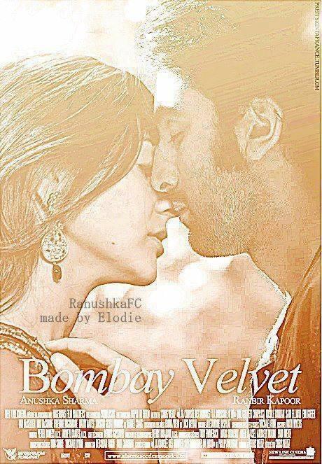 Movie poster of 'Bombay Velvet'