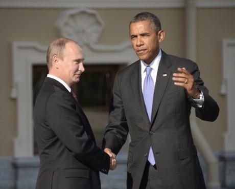 US President Barack Obama and Russian President Vladimir Putin