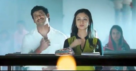 Vishal-Aishwarya (Screenshot from YouTube)