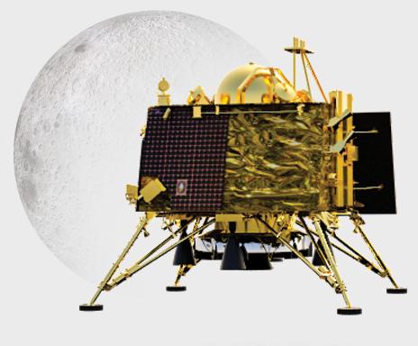 Vikram lander of ISRO