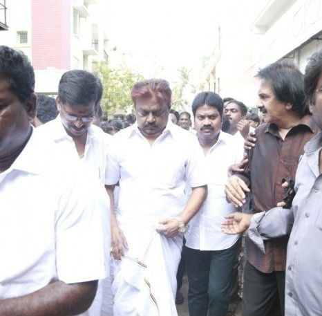 Celebrities Pay Homage to MS Viswanathan,celbs Pays Homage to MS Viswanathan,MS Viswanathan,Music Composer MS Viswanathan,Kollywood Celebrities Pay Homage to MS Viswanathan.