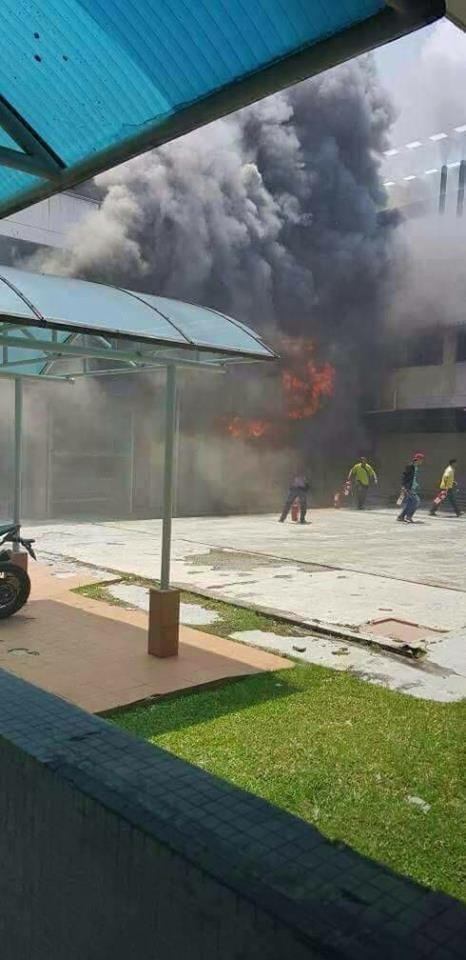 Fire at Malaysia,Malaysia,Malaysia's largest public hospital,fire at Malaysia's largest public hospital