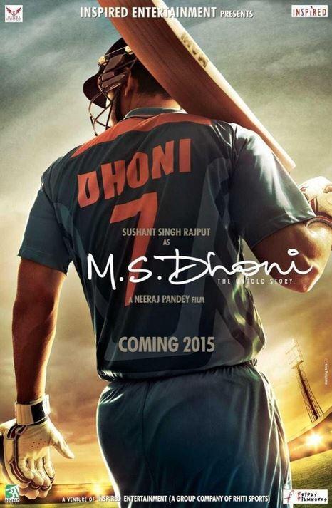 Sushant Singh Rajput as MS Dhoni
