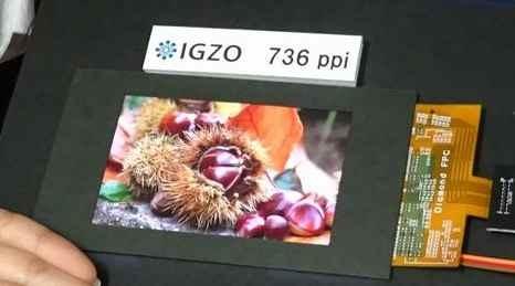 Sharp IGZO 4K Display