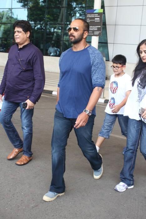 Rohit Shetty Spotted At Domestic Airport,Rohit Shetty,actor Rohit Shetty,Rohit Shetty pics,Rohit Shetty images,Rohit Shetty photos,Rohit Shetty stills,Rohit Shetty latest pics