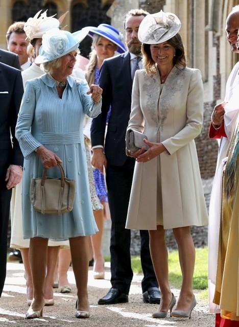 Royals Attend Christening of Princess Charlotte,princess charlotte christening,princess charlotte