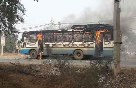 Haryana Roadways,Padmaavat protests,Padmaavat movie protests,padmaavat release,padmaavat controversy,Shri Rajput Karni Sena,Karni Sena