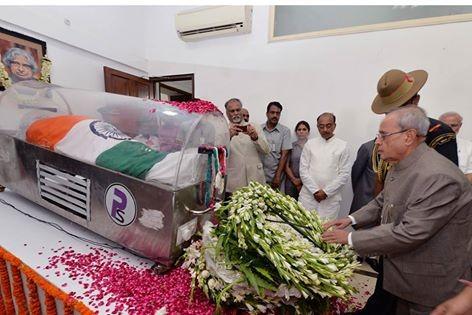 APJ Abdul Kalam,APJ Abdul Kalam funeral,Abdul Kalam,abdul kalam latest,Pranab Mukherjee,Pranab Mukherjee pays homage to APJ