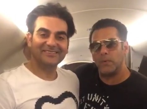 Dabangg 3: Salman Khan and Arbaaz Khan begin shoot in Indore