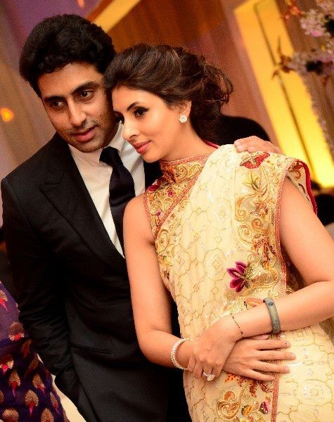 A close shot of the brother-sister duo Abhishek and Shweta