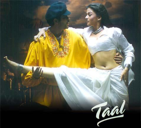 Anil Kapoor, Aishwarya Rai Bachchan in Taal