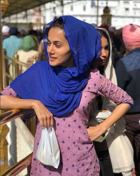 Taapsee Pannu,actress Taapsee Pannu,Manmarziyan,Manmarziyan release,bollywood movie,Bollywood movie release,Vicky Kaushal