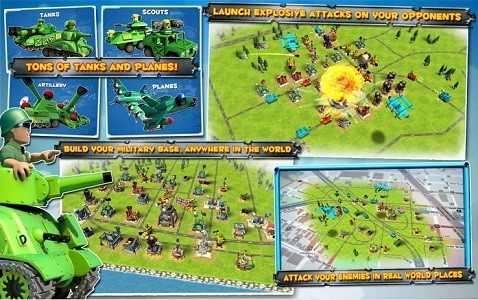 Combat Strategy games