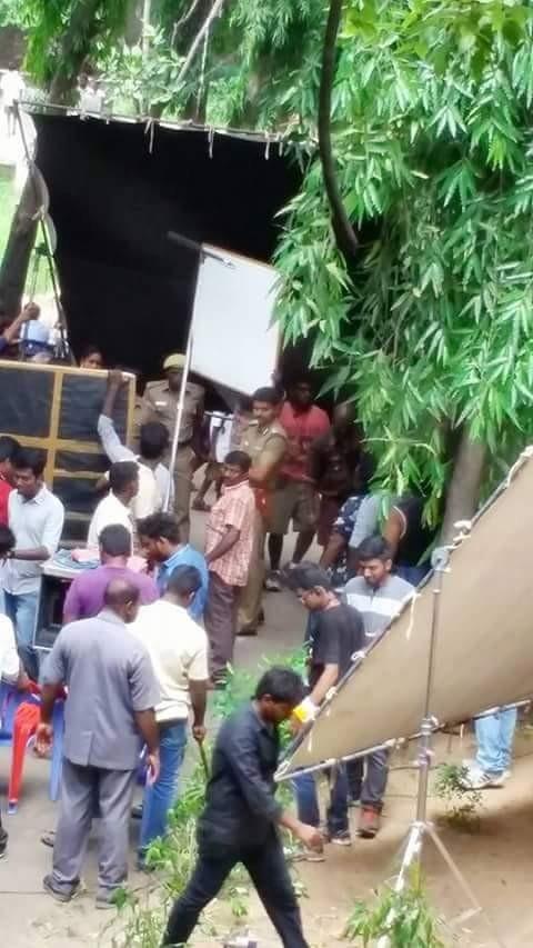 Puli,Ilayathalapathy,ilayathalapathy vijay,Vijay 59,Vijay 59 Shooting Spot Still,Vijay 59 on the sets