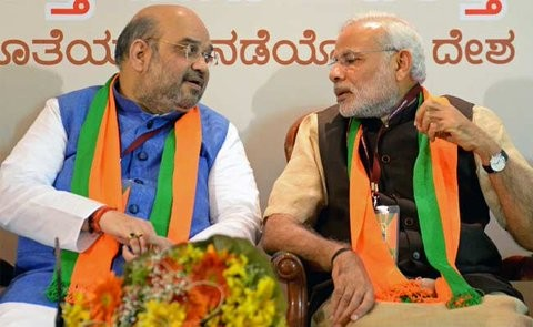 BJP's National Executive Meets In Bangalore,Narendra Modi,Narendra Modi in bangalore,Amit Shah,LK Advani,Prime Minister Narendra Modi,bjp