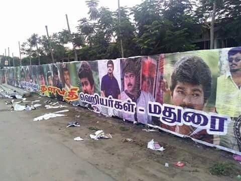 Thalapathy 60,Thalapathy 60 Poster,Vijay fans,Madurai Temple city,Madurai vijay fans,Vijay and Keerthy Suresh,Vijay,Keerthy Suresh,ilayathalapathy vijay
