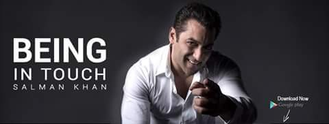Being In Touch,Being In Touch app,Salman Khan,Salman Khan app,Salman Khan's Being In Touch app,Salman Khan birthday,Salman Khan 51st birthday,Salman Khan birthday pics,Salman Khan birthday images,Salman Khan birthday photos,Salman Khan birthday still