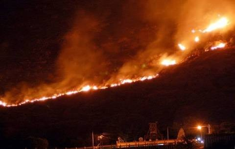 Theni forest fire,Theni forest,Theni fire,Kurangani hills,Theni forest fire pics,Theni forest fire images,Kurangani Hills in Theni district