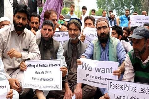 Yasin Malik,Muhammad Yasin Malik,Kashmiri prisoners,Joint Resistance Leadership