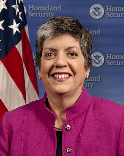 Secretary of the US Department of Homeland Security Janet Napolitano is the world's 8th most powerful woman, according to Forbes magazine's annual list of 100 most powerful women around the world.
