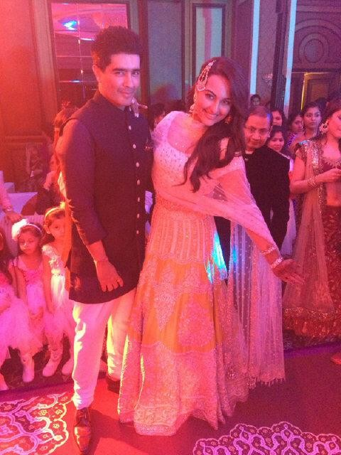 Sonakshi Sinha's Brother Wedding